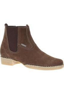 Bota Couro Fazenda Boots Masculina - Masculino-Marrom