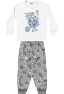 Pijama Espaço Branco