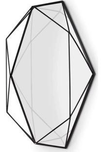 Espelho Prisma 56X42 Cm Metal Preto Umbra