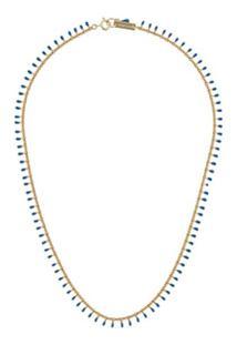 Isabel Marant Casablanca Beaded Necklace - Azul