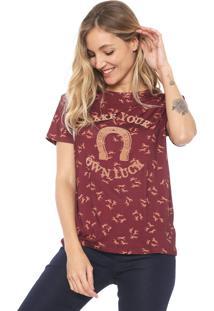 Camiseta Lez A Lez Thirty Plus Vinho