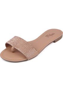 Rasteirinha Trivalle Shoes Clear Nude