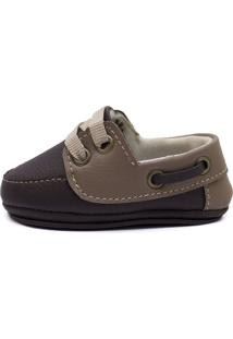 Sapato Clacle Bebê Marron