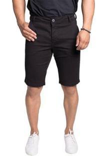 Bermuda Jeans Osmoze Alfaiataria Z 103124116 Preto - Preto - 48 - Masculino