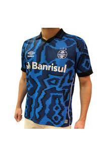 Camisa Grêmio 3 Oficial Umbro Masculina Número 10