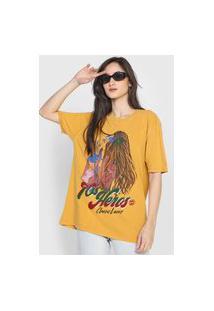 Camiseta Oh, Boy! Classic Lovers Caramelo
