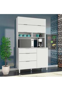 Cozinha Compacta Colúmbia 3 Pt 3 Gv Branca