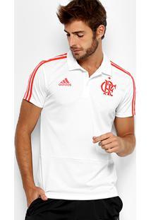 192e599b414bf Netshoes. Camisa Polo Flamengo Adidas Viagem Masculina ...