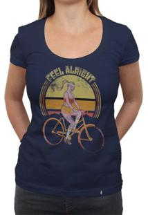 Feel Allright - Camiseta Clássica Feminina