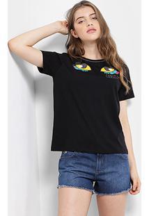 Camiseta Infantil Colcci Fun Bordada Feminina - Feminino
