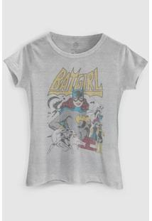 Camiseta Dc Comics Power Girls Batgirl Bandup! - Feminino-Cinza