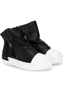 Cinzia Araia Kids Ankle Boot - Preto
