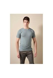 Camiseta Nervuras Tricot Fredo