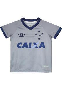 Camisa Umbro Cruzeiro Iii 2018 Infantil - Masculino