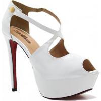 2756cf1af5 Betisa. Sandália Zariff Shoes Meia Pata Noivas