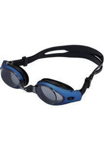 c4c8d77deffb4 Óculos De Natação Oxer Zeus - Adulto - Azul Preto