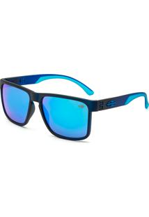 59fbd57b92d45 Óculos De Sol Mormaii Monterey M0029 I34 97 Azul Lente Espelhada Azul Tam 56