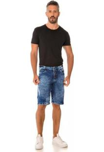Bermuda Jeans Express Jean Masculina - Masculino