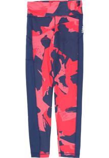 Calça Adidas Infantil Artística Rosa/Azul - Tricae