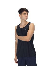 Camiseta Regata Mizuno Energy - Masculina - Preto