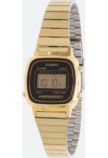 Relógio Feminino Casio Vintage La670Wga 1Df Digital