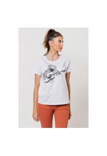 Camiseta Jay Jay Básica Stoner Branca