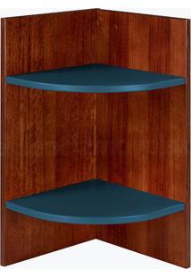 Prateleira Modular Hinz Azul Marinho Laca M505