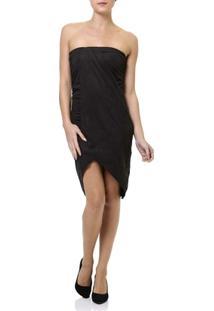 Vestido Curto Feminino Autentique Preto - Feminino