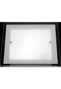 Plafon Cristal 400Mm 7814 Fo Branco