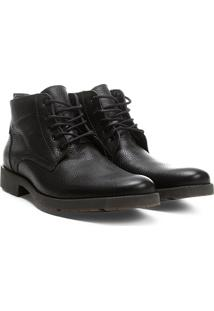 Bota Couro Cano Curto Shoestock Masculina - Masculino