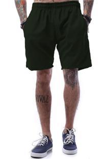 Bermuda Tactel Ezok Basic Line Verde Militar