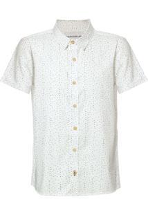 Camisa Mc Ckj Microprint Calvin - Branco 2 - 10