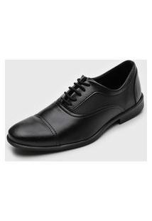 Sapato Social Colombo Recortes Preto