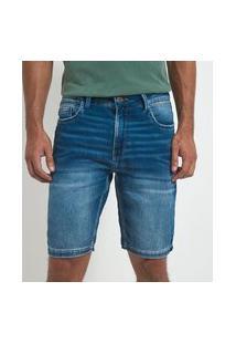 Bermuda Jeans Slim Lisa | Marfinno | Azul | 38
