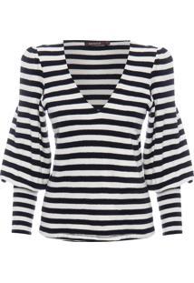 Camiseta Feminina Lines - Preto