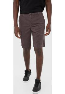 Bermuda Sarja Ellus Chino Color Canvas Marrom