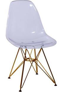 Cadeira Eames Dkr- Incolor & Cobre- 80,5X46,5X42Cm
