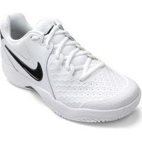 3f6b597cb42 Tênis Nike Air Zoom Couro Resistance Masculino - Masculino-Branco+Preto