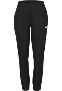Calça Puma Essentials Sweat Pants Feminina - Feminino-Preto