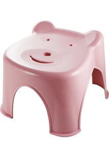 Banquinho Ursinho Jacki Design Lifestyle Rosa