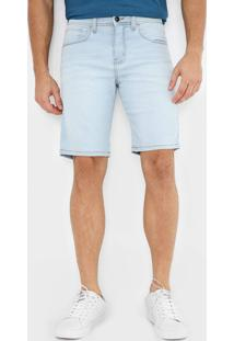 Bermuda Jeans Quiksilver Reta Every Azul - Kanui