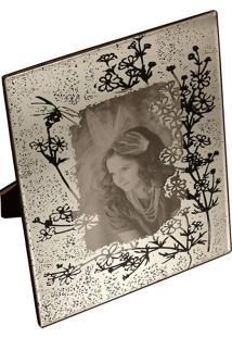 Porta-Retrato Decorativo Espelhado Camme
