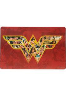 Jogo Americano Wonder Woman®- Vermelho & Dourado- 2Purban