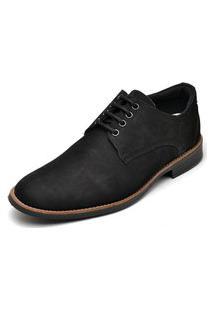 Sapato Social Masculino Esporte Fino Go Well Shoes Preto