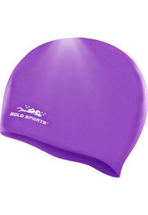 Touca Gold Sports Junior Roxo
