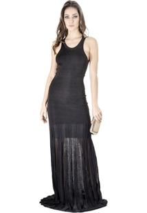 Vestido Longo Calvin Klein - Feminino