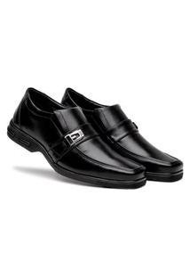 Sapato Comfort Social Ortopédico Preto Bertelli