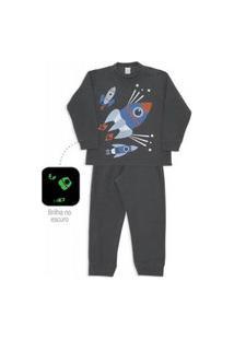 Pijama Microsoft Menino Inverno Dedeka Estampado