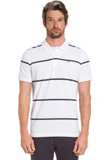 Camisa Polo Branco