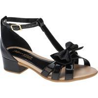 822f2f62f Sandália Para Menina Conforto Preta Verniz infantil | Shoes4you